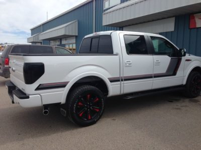 F-150 Hockey Stick // Truck Graphics