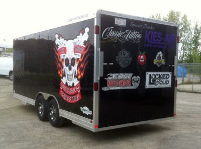 Side & Rear Decals  // Trailer Graphics