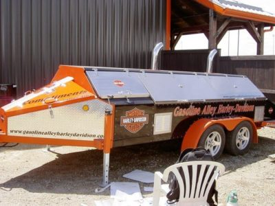 BBQ Trailer Wrap // Miscellaneous