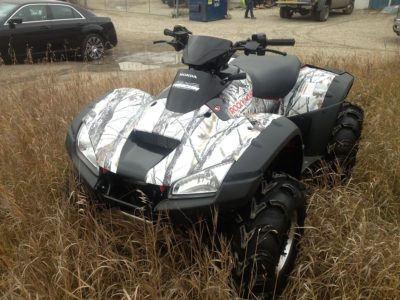 Quad Wrap // Outdoor Motor Sport Wraps