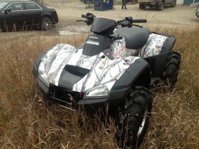 Quad Wrap // Outdoor Motor Sport Wraps