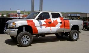 canada-flag-truck