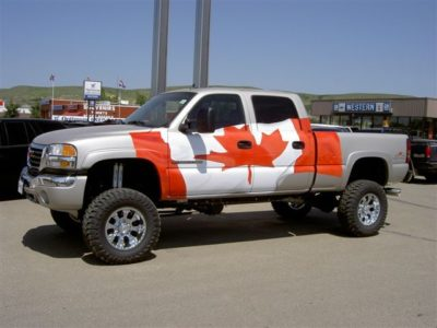 Canadian Flag // Truck Graphics