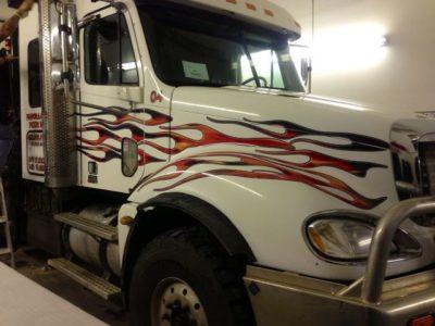 Flames Decals // Big Trucks