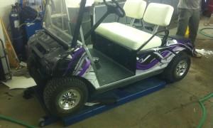 leo's golf cart