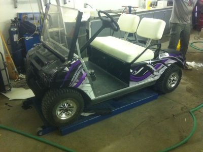 Custom Wrap // Golf Cart Wraps