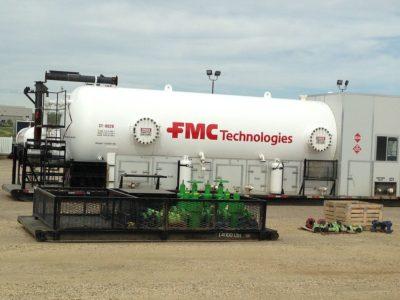 Storage Tank // Oil Field Equipment