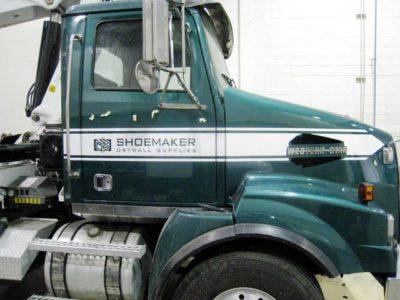 Semi Truck - Custom Paint - Stripes