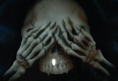 Airbrush - Skull - See No Evil