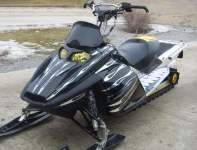 Snowmobile Wrap // Outdoor Motor SportWraps