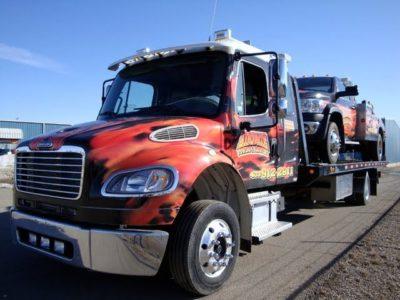 Tow Truck - Custom Flames