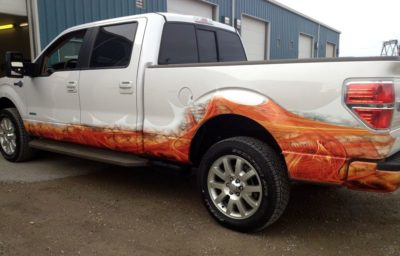 Custom Flames // Truck Graphics