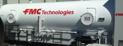 Storage Tank // Oil Field Equipment