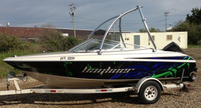 Boat Wrap // Outdoor Motor Sports Wraps