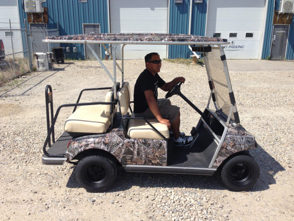 Camo Wrap // Golf Cart Wraps