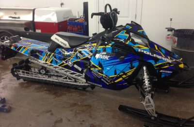 Snowmobile Wrap // Outdoor Motor Sport Wraps