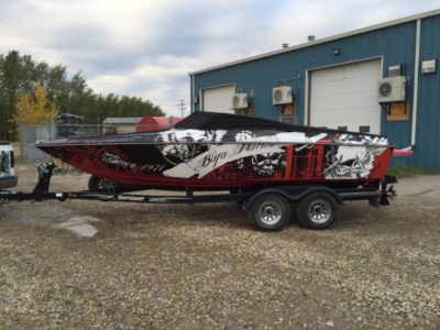 Boat Wrap // Outdoor Motor Sport Wraps
