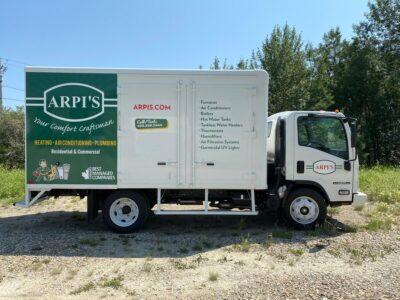 ARPI'S Cube Van // Fleet Marking