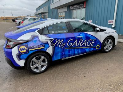 Car Wrap // Fleet Marking