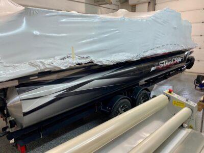 Boat Wrap // Outdoor Motor Sports