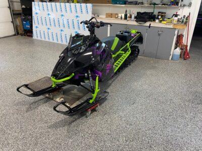 Snowmobile Wrap // Outdoor Motor Sports
