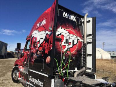 Stampeders Wrap // Big Trucks