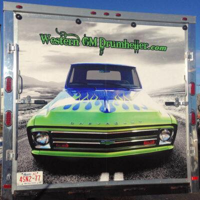Car Trailer Wrap