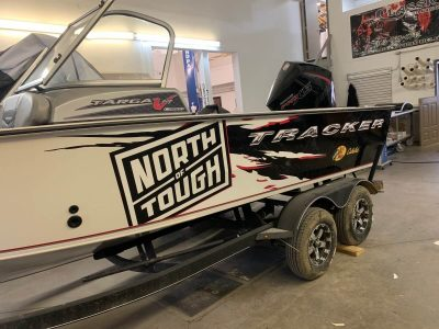 Boat Wrap // Outdoor Motor Sports