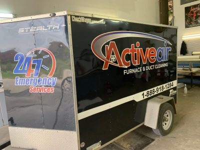 Company Trailer Decals