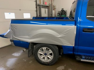 Custom Half Wrap // Truck Graphics