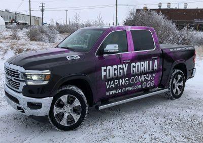 Foggy Gorilla Wrap// Wraps