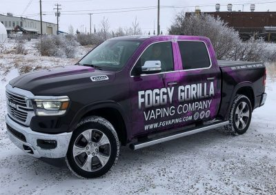 Foggy Gorilla Wrap// Wraps