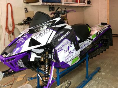 Snowmobile Wrap // Outdoor Motor Sports
