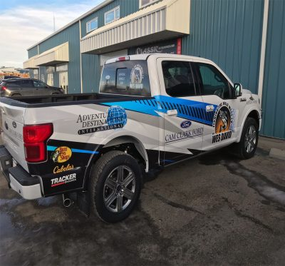Custom TV Show Wrap // Truck Graphics